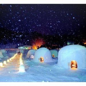Kamakura, Snow Hut