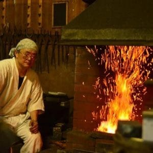 Japanese Sword Smith in Kurashiki