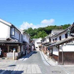 Kurashiki Bikan Chiku (Kurashiki beautiful Historian Quarter), Okayama