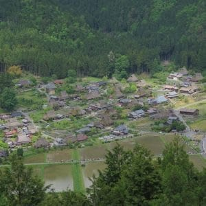 Spring Miyama is the self subsistent living and community