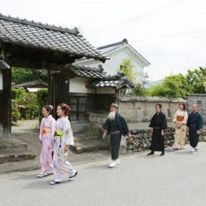 Kimono and Tea Ceremony in Samurai Residence Quarter in Izumi, Kagoshima