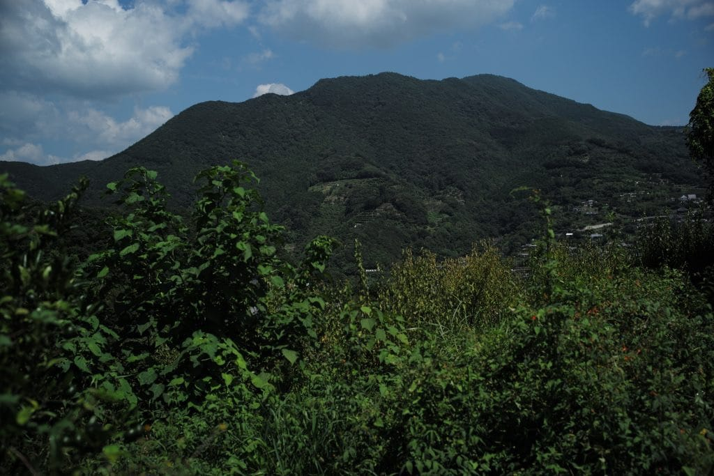 Takano-Yama mountain at Akizuno