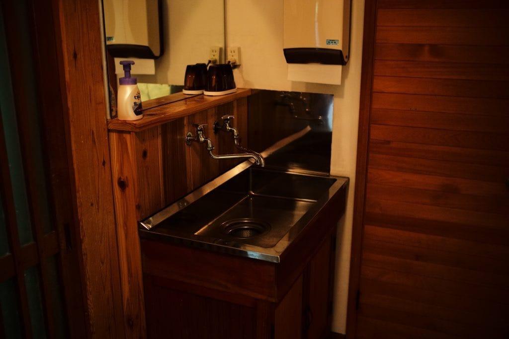 wash-basin Japanese room