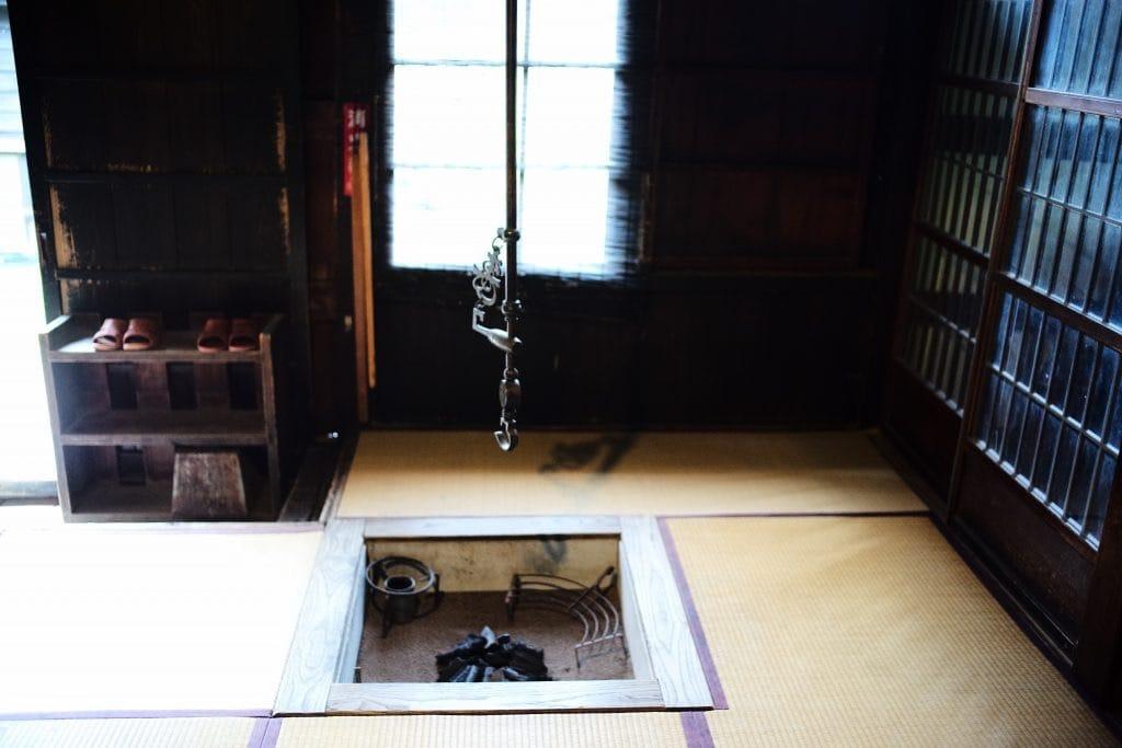 irori fireplace