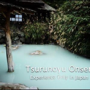 Tsurunoyu Onsen at Nyuto Onsen