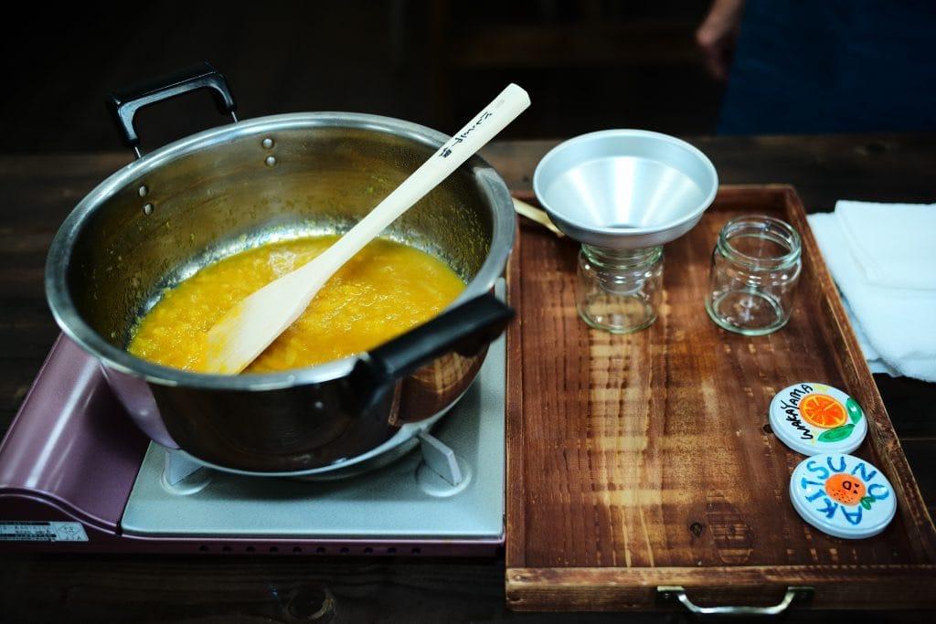 Bottoling Orange & Lemon Cooking Orange Jam, Akitzno, Wakayama