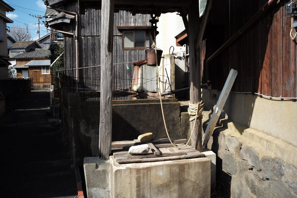 water well at Ojikajima island main stree