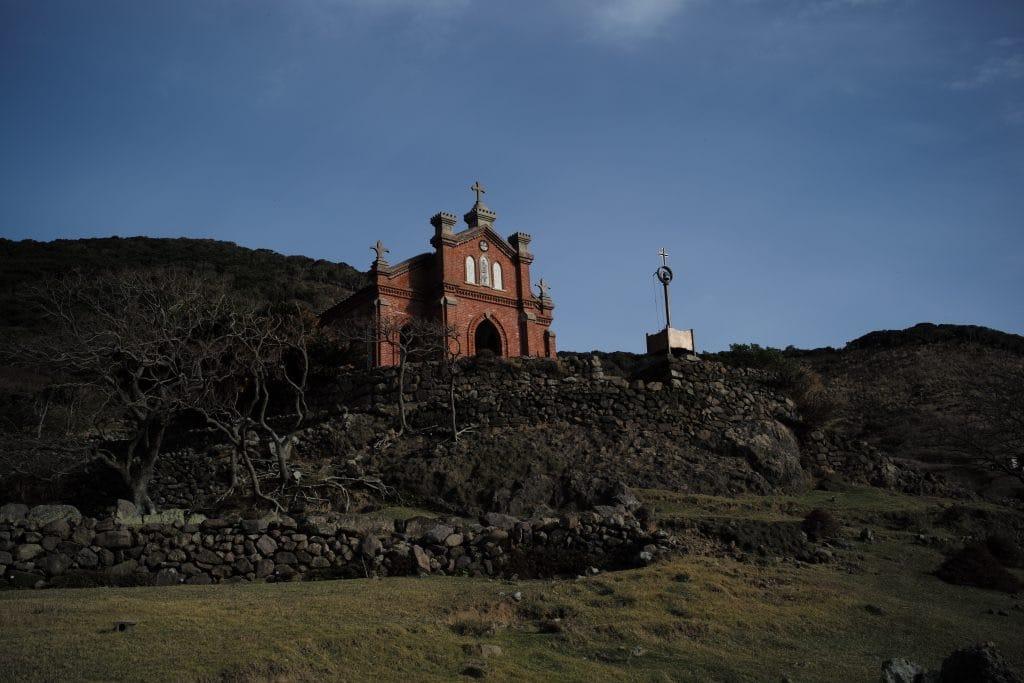 Church in Ruin, Nokubi Settlemet in Nozaki Island, Nagasaki