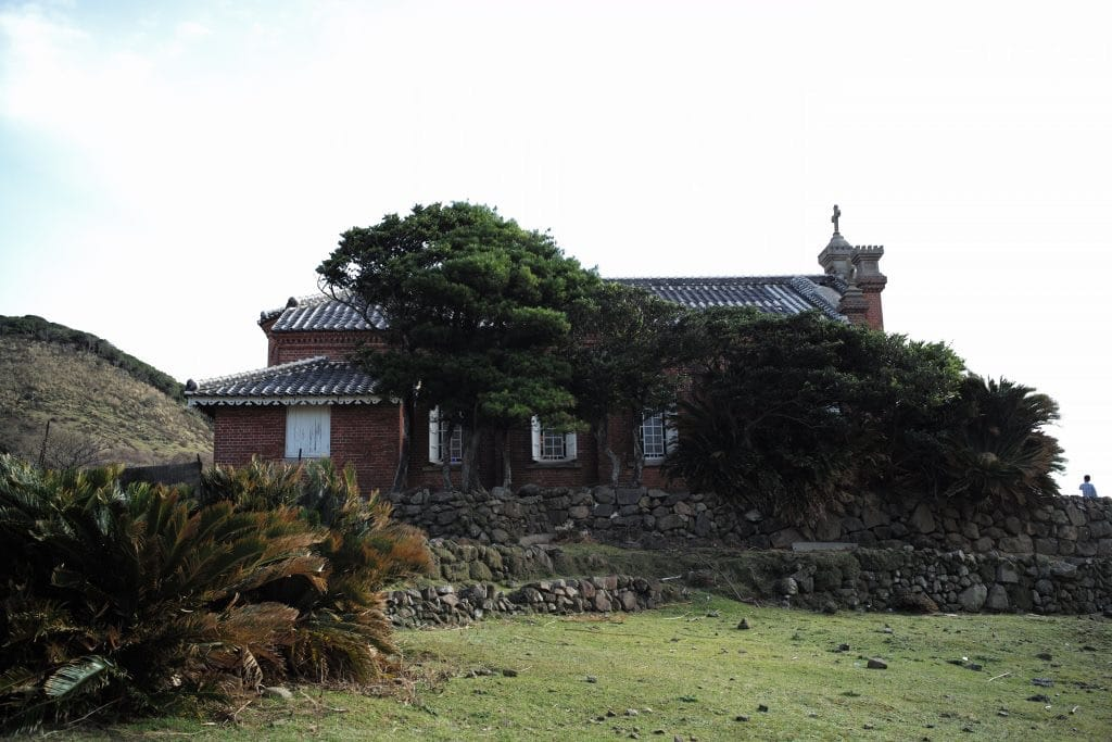Church in Ruin, Nokubi Settlemet in Nozaki Island, Nagasaki