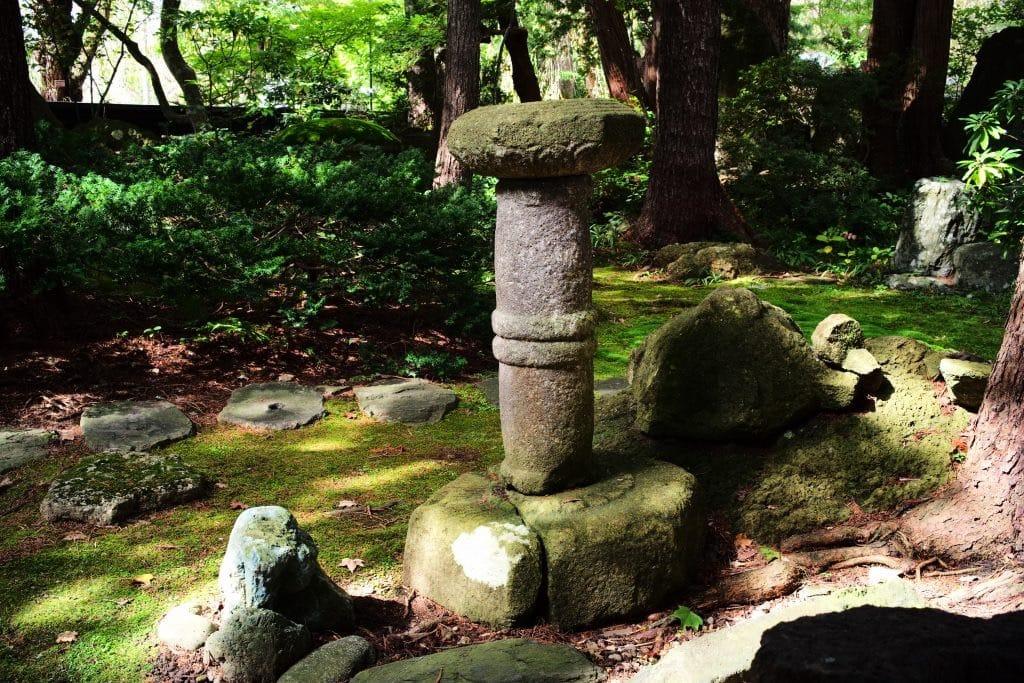 Garden , Samurai House, Ishiguro-ke at Kakunodate, semboku, Akita