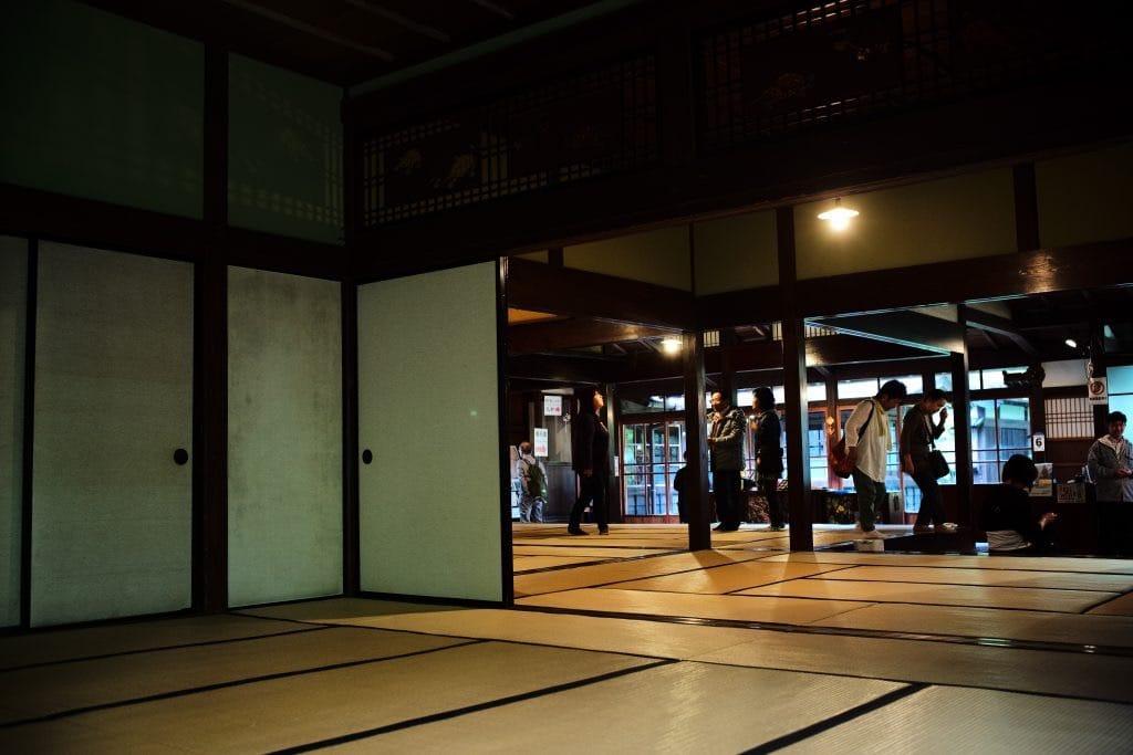 Inside, Samurai House, Ishiguro-ke at Kakunodate, semboku, Akita