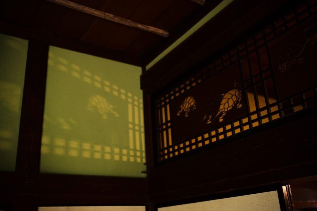 Turtle Ranma Transom Window, , Samurai House, Ishiguro-ke at Kakunodate, semboku, Akita