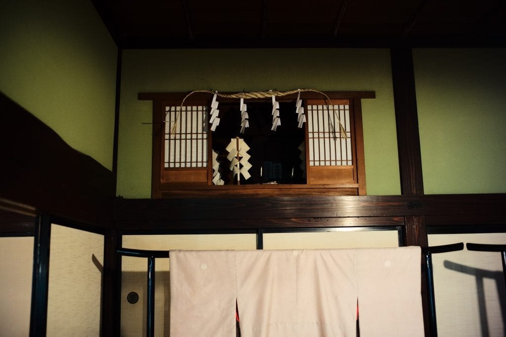 Kamidana House Shrine, Samurai House, Ishiguro-ke at Kakunodate, semboku, Akita