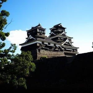 Resilient symbol Kumamoto castle